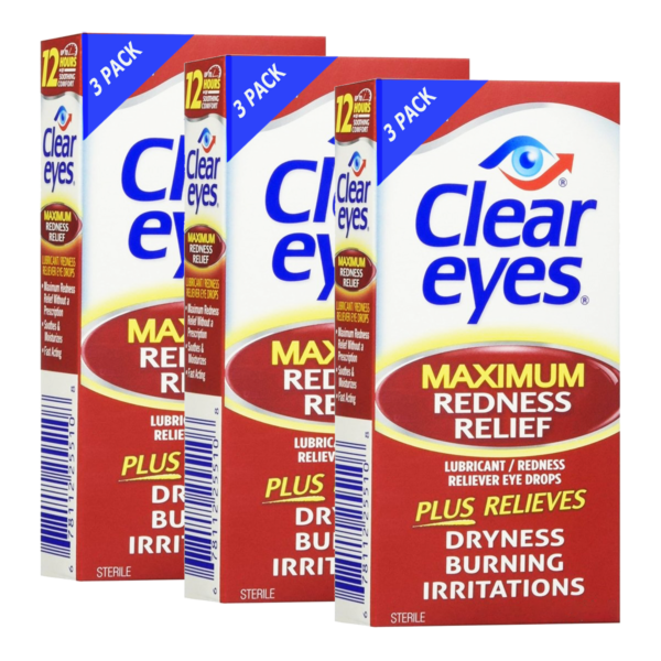 Clear Eyes® Redness Relief 9 pack