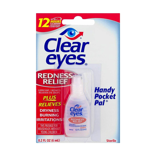 Clear Eyes® Redness Relief – 1 pack