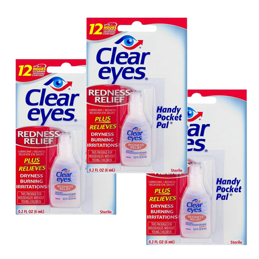 Clear Eyes® Redness Relief 3 pack