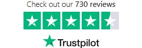 Trustpilot – 730 omdömen